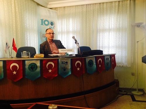 Nejat ÇOĞAL Türk Ocakları Genel Merkezinde