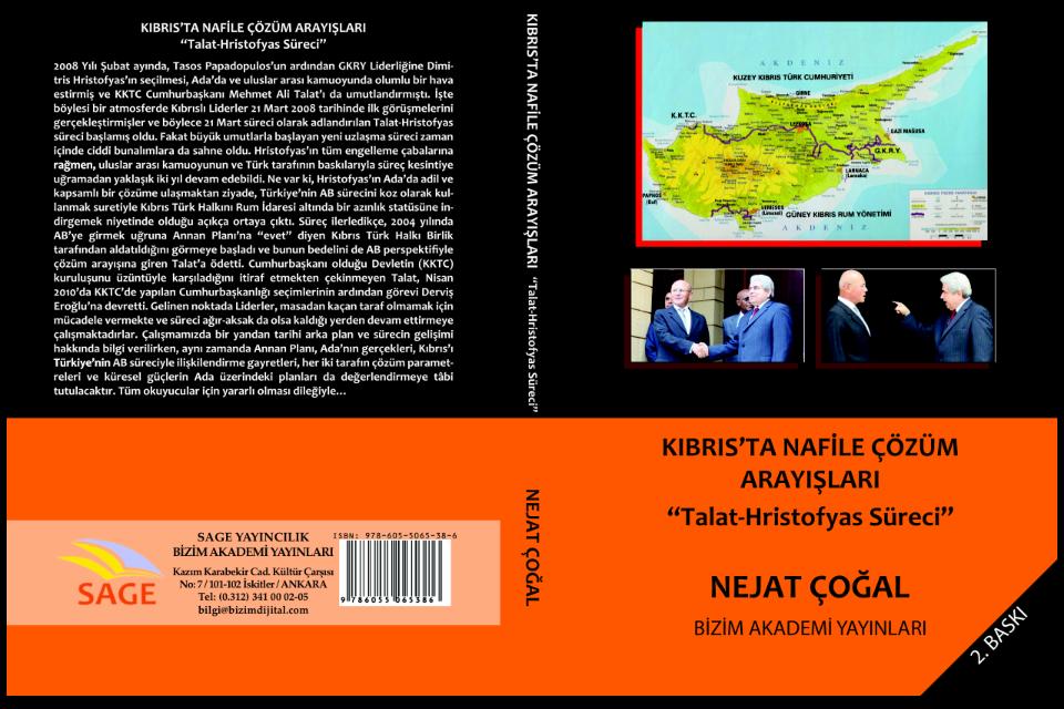 Kıbrıs'ta Nafile Çözüm Arayışları: Talat-Hristofyas Süreci – Nejat ÇOĞAL