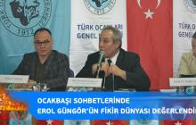 Panel-Nejat ÇOĞAL, Prof.Dr. Erol GÜNGÖR'ü Anma Panelinde Konuştu…