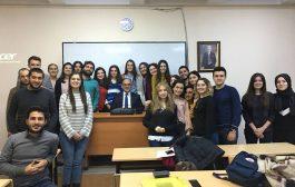 Gazi Üniversitesi İ.İ.B.F. Uluslararası Ticaret Bölümü 4. Sınıf Öğrencilerimle Birlikte…