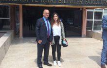 Gazi İ.İ.B.F. de Kızımla Birlikte…
