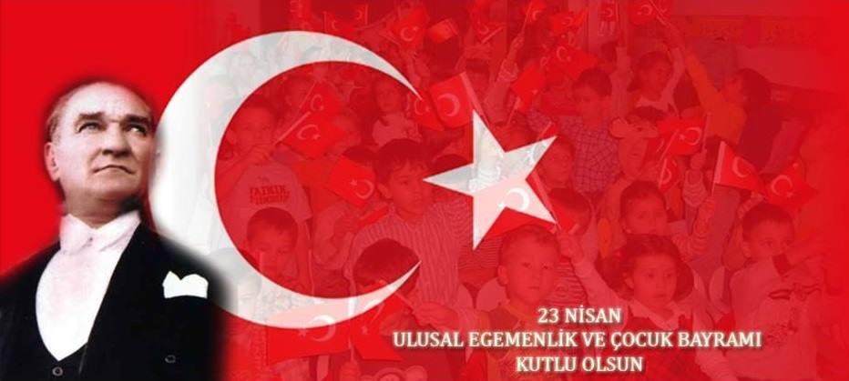 Türk Milletinin 23 Nisan Milli Egemenlik ve Çocuk Bayramını tebrik ediyorum…